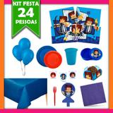 Kit Festa Infantil Authentic Games 24 Pessoas - Festabox