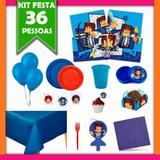 Kit Festa Infantil Authentic Games 36 Pessoas - Festabox