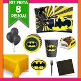 Kit Festa Infantil Batman 08 Pessoas - Festabox