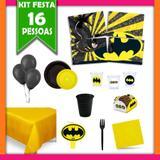 Kit Festa Infantil Batman 16 Pessoas - Festabox