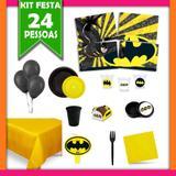 Kit Festa Infantil Batman 24 Pessoas - Festabox