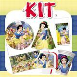 Kit Festa Infantil Branca de Neve 24 Pessoas Econômico - Festabox