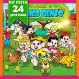 Kit Festa Infantil Chico Bento 24 Pessoas Econômico - Festabox