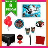 Kit Festa Infantil Como Treinar seu Dragão 08 Pessoas - Festabox