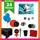 Kit Festa Infantil Como Treinar seu Dragão 24 Pessoas - Festabox