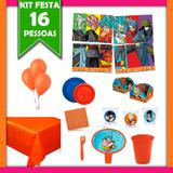 Kit Festa Infantil Dragon Ball Super 16 Pessoas - Festabox