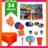 Kit Festa Infantil Dragon Ball Super 24 Pessoas - Festabox