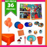 Kit Festa Infantil Dragon Ball Super 36 Pessoas - Festabox