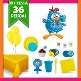 Kit Festa Infantil Galinha Pintadinha 36 Pessoas - Festabox