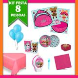 Kit Festa Infantil LOL Surprise 08 Pessoas - Festabox