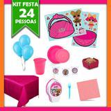 Kit Festa Infantil LOL Surprise 24 Pessoas - Festabox