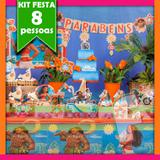 Kit Festa Infantil Moana 08 Pessoas Econômico - Festabox