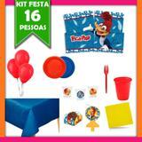 Kit Festa Infantil Pica-Pau 16 Pessoas - Festa express