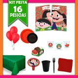 Kit Festa Luna Melancia 16 Pessoas - Festabox