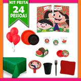 Kit Festa Luna Melancia 24 Pessoas - Festabox