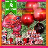 Kit Festa Miraculous Lady Bug 08 Pessoas Econômico - Festabox
