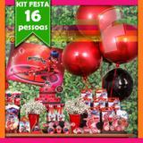 Kit Festa Miraculous Lady Bug 16 Pessoas Econômico - Festabox