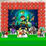 Kit Festa Ouro Ben 10 - IMPAKTO VISUAL