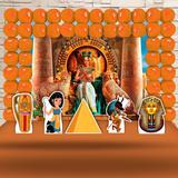 Kit Festa Ouro Cleópatra Egito - IMPAKTO VISUAL