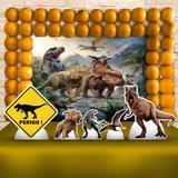 Kit Festa Ouro Dinossauros  - IMPAKTO VISUAL