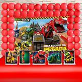 Kit Festa Ouro Dinotrux Uma Equipe da Pesada - IMPAKTO VISUAL