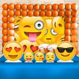Kit Festa Ouro Emoji  - IMPAKTO VISUAL
