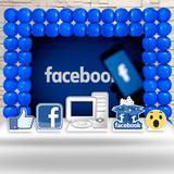 Kit Festa Ouro Facebook Redes Sociais - IMPAKTO VISUAL