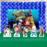 Kit Festa Ouro Gravity Falls - IMPAKTO VISUAL