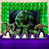 Kit Festa Ouro Hulk  - IMPAKTO VISUAL