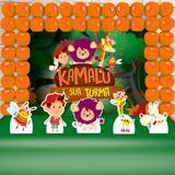 Kit Festa Ouro Kamalu E Sua Turma - IMPAKTO VISUAL