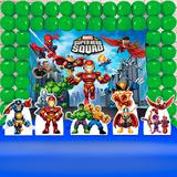 Kit Festa Ouro Marvel Super Hero Squad - IMPAKTO VISUAL