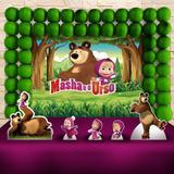 Kit Festa Ouro Masha e o Urso - IMPAKTO VISUAL