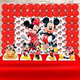 Kit Festa Ouro Mickey e Minnie - IMPAKTO VISUAL