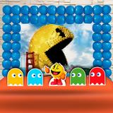 Kit Festa Ouro Pixel Pac Man - IMPAKTO VISUAL