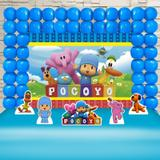 Kit Festa Ouro Pocoyo  - IMPAKTO VISUAL
