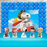 Kit Festa Ouro Snoopy E Sua Turma - IMPAKTO VISUAL