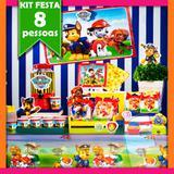 Kit Festa Patrulha Canina 08 Pessoas Econômico - Festabox
