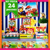 Kit Festa Patrulha Canina 24 Pessoas Econômico - Festabox