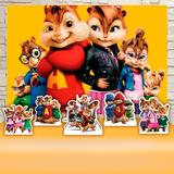 Kit Festa Prata Alvin e os Esquilos Filme  - IMPAKTO VISUAL