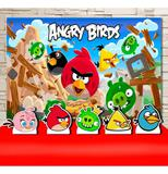 Kit Festa Prata Angry Birds - IMPAKTO VISUAL