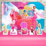 Kit Festa Prata Barbie Dreamtopia - IMPAKTO VISUAL