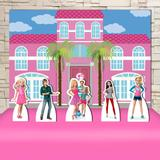 Kit Festa Prata Barbie Life In The Dreamhouse  - IMPAKTO VISUAL