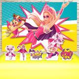 Kit Festa Prata Barbie Princesa - IMPAKTO VISUAL