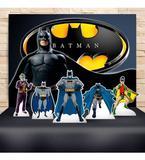 Kit Festa Prata Batman   - IMPAKTO VISUAL