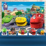 Kit Festa Prata Chuggington - IMPAKTO VISUAL