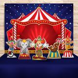 Kit Festa Prata Circo   - IMPAKTO VISUAL