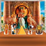 Kit Festa Prata Cleópatra Egito  - IMPAKTO VISUAL