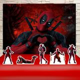 Kit Festa Prata Dead Pool  - IMPAKTO VISUAL