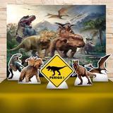 Kit Festa Prata Dinossauros - IMPAKTO VISUAL