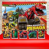 Kit Festa Prata Dinotrux Uma Equipe da Pesada  - IMPAKTO VISUAL